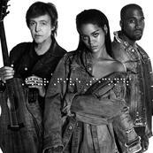 RIHANNA - KANYE WEST - PAUL MC CARTNEY - FourFiveSeconds