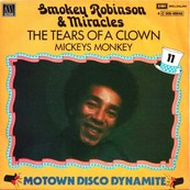 SMOKEY ROBINSON - SMOKEY ROBINSON & THE MIRACLES - THE TEARS OF A CLOWN