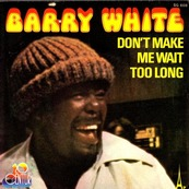 BARRY WHITE - Don't make me wait too long