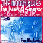 THE MOODY BLUES - I'M JUST A SINGER