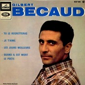 GILBERT BECAUD - TU LE REGRETTERAS