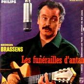 GEORGES BRASSENS - LES FUNERAILLES D'ANTAN