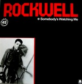 MICHAEL JACKSON - ROCKWELL - Somebody 's watching me