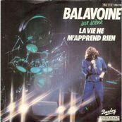 Chérie FM-DANIEL BALAVOINE-LA VIE NE M'APPREND RIEN