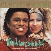 Chérie FM-JERMAINE JACKSON-WHEN THE RAIN BEGINS TO FALL