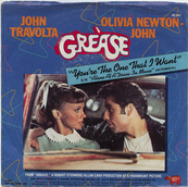 Nostalgie-JOHN TRAVOLTA/O. NEWTON JOHN-YOU'RE THE ONE THAT I WANT