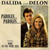 Nostalgie-DALIDA/ALAIN DELON-PAROLES PAROLES