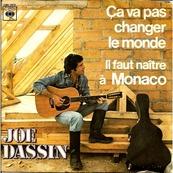Nostalgie-JOE DASSIN-CA VA PAS CHANGER LE MONDE