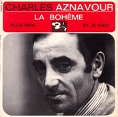 Nostalgie-CHARLES AZNAVOUR-LA BOHEME