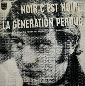 Nostalgie-JOHNNY HALLYDAY-NOIR C'EST NOIR