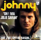 Nostalgie-JOHNNY HALLYDAY-OH! MA JOLIE SARAH
