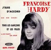 Nostalgie-FRANCOISE HARDY-TOUS LES GARCONS ET LES FILLES