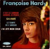 Nostalgie-FRANCOISE HARDY-LE TEMPS DE L'AMOUR