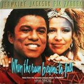 Nostalgie-JERMAINE JACKSON/PIA ZADO-WHEN THE RAIN BEGINS TO FALL