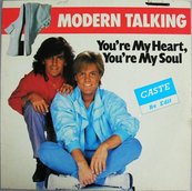 Nostalgie-MODERN TALKING-YOU'RE MY HEART YOU'RE MY SOUL