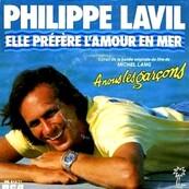 Nostalgie-PHILIPPE LAVIL-ELLE PREFERE L'AMOUR EN MER