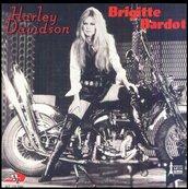 Nostalgie-BRIGITTE BARDOT-HARLEY DAVIDSON