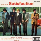 Nostalgie-THE ROLLING STONES-SATISFACTION
