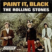 Nostalgie-THE ROLLING STONES-PAINT IT BLACK