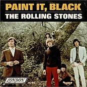 Nostalgie-THE ROLLING STONES-PAINT IT BLACK