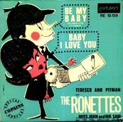 Nostalgie-THE RONETTES-BE MY BABY