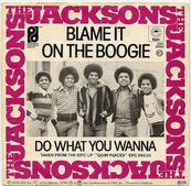 Nostalgie-THE JACKSONS-BLAME IT ON THE BOOGIE