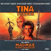Nostalgie-TINA TURNER-WE DON'T NEED ANOTHER HERO