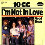 Nostalgie-TEN CC-I'M NOT IN LOVE