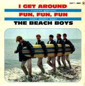 Nostalgie-THE BEACH BOYS-I GET AROUND