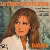 Nostalgie-DALIDA-LE TEMPS DES FLEURS