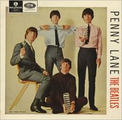 Nostalgie-THE BEATLES-PENNY LANE
