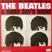 Nostalgie-THE BEATLES-A HARD DAY'S NIGHT