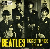 Nostalgie-THE BEATLES-TICKET TO RIDE