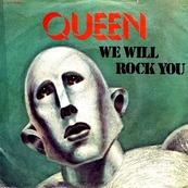 Nostalgie-QUEEN-WE WILL ROCK YOU