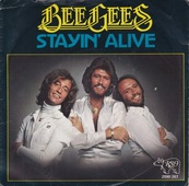 Nostalgie-THE BEE GEES-STAYING ALIVE