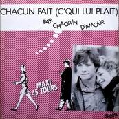Nostalgie-CHAGRIN D'AMOUR-CHACUN FAIT ( C'QU'IL LUI PLAIT )