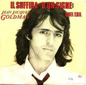 Nostalgie-JEAN JACQUES GOLDMAN-IL SUFFIRA D'UN SIGNE