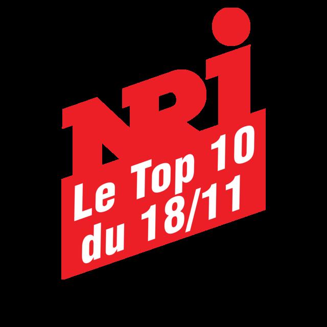 NRJ LE TOP 10 DU LUNDI 18 NOVEMBRE